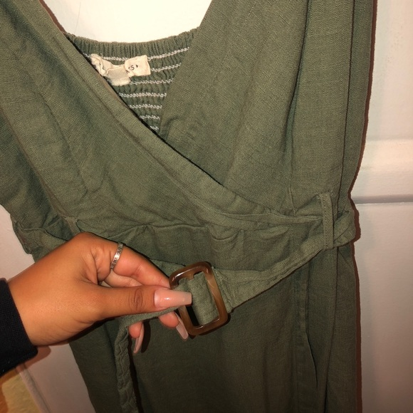 PacSun Dresses & Skirts - olive green dress from LA HEARTS (pacsun)